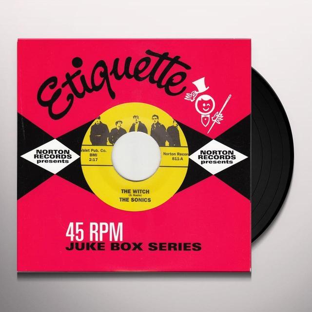 Sonics WITCH / KEEP A KNOCKIN Vinyl Record