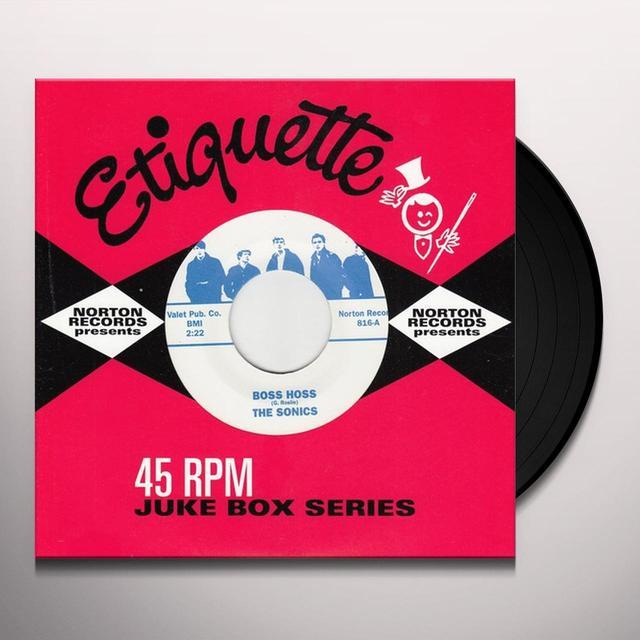 Sonics BOSS HOSS / HUSTLER Vinyl Record