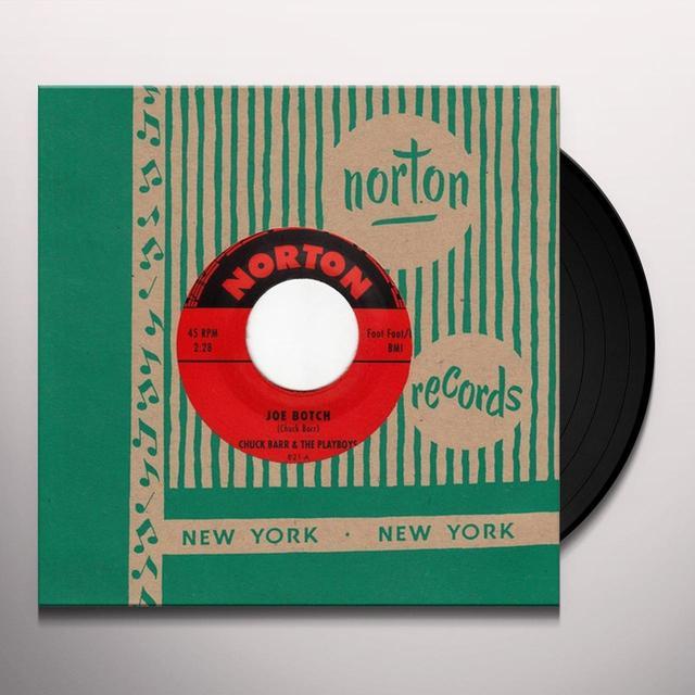 Chuck Barr & The Playboys / Ramrods JOE BOTCH / WAR PARTY Vinyl Record