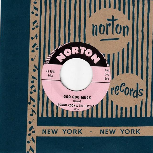 Ronnie Cook & The Gaylads GOO GOO MUCK / SCOTCH Vinyl Record