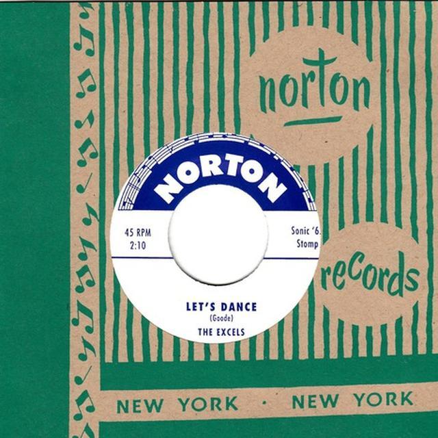 Excels / Swanks LET'S DANCE / GHOST TRAIN Vinyl Record