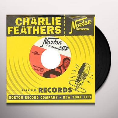 Charlie Feathers FRANKIE & JOHNNY / HONKY TONK KIND Vinyl Record