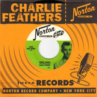 Charlie Feathers CORRINE CORRINA / RUNNIN AROUND Vinyl Record