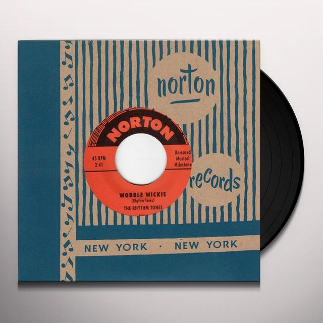 Bob Vidone & The Rhythm Tones WOBBLE WICKIE / WEIRD Vinyl Record