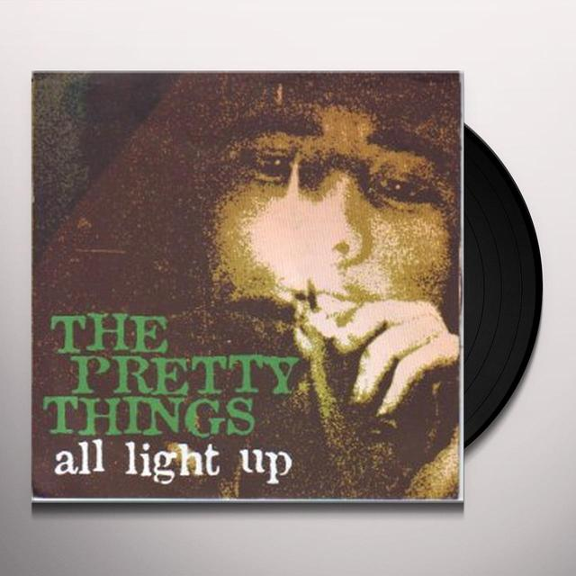 The Pretty Things ALL LIGHT UP / VIVIAN PRINCE Vinyl Record
