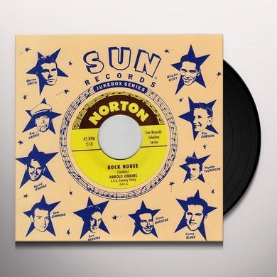 Harold Jenkins ROCK HOUSE / CRAZY DREAMS Vinyl Record