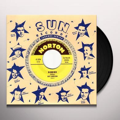 Roy Orbison / Gene Ross DOMINO / EVERYBODY'S TRYIN TO KISS MY BABY Vinyl Record