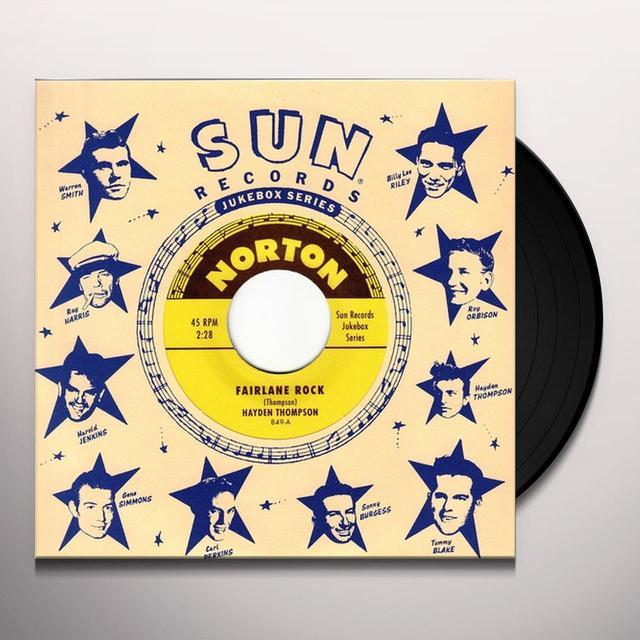Hayden Thompson / Ernie Barton FAIRLANE ROCK / SHE'S GONE AWAY Vinyl Record