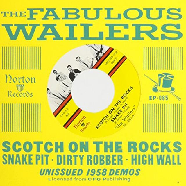 The Wailers SCOTCH ON THE ROCKS Vinyl Record