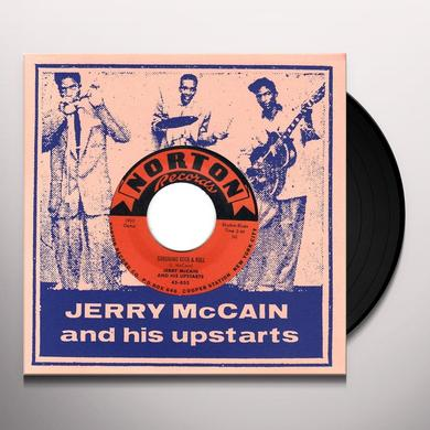 Jerry Mccain GERONIMO ROCK N ROLL / CHOO CHOO ROCK Vinyl Record