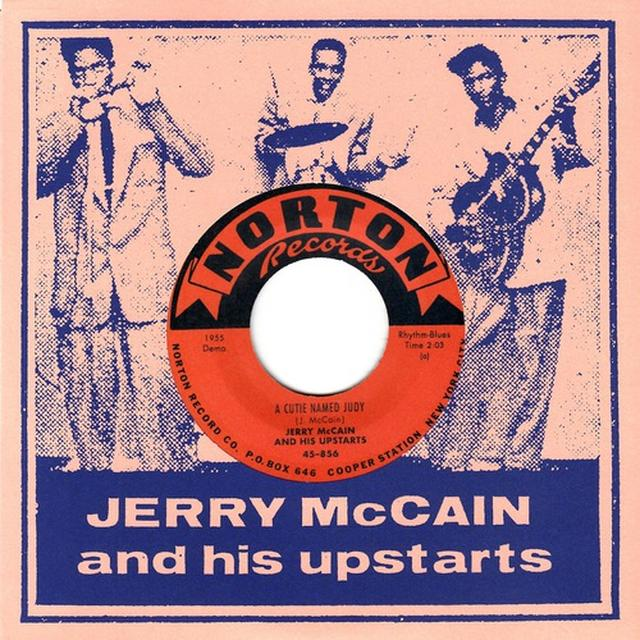 Jerry Mccain CUTIE NAMED JUDY / IT MUST BE LOVE Vinyl Record