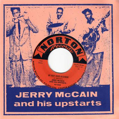 Jerry Mccain MY NEXT DOOR NEIGHBOR / CRYING LIKE A FOOL Vinyl Record
