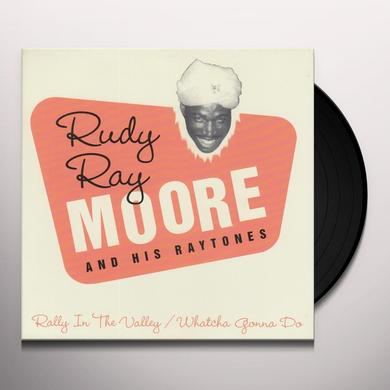 Rudy Ray Moore RALLY IN THE VALLEY Vinyl Record