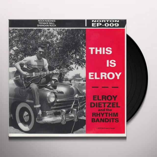 Elroy Dietzel THIS IS ELROY Vinyl Record