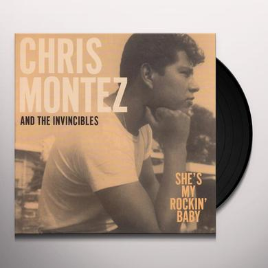 Chris Montez & The Invincibles SHE'S MY ROCKIN BABY / FORGIVE ME Vinyl Record