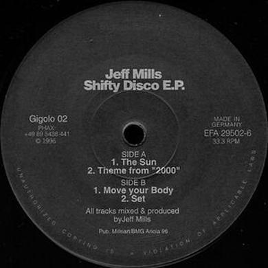 Jeff Mills SHIFTY DISCO E.P. Vinyl Record