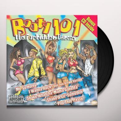 BOOTY 101: FORBIDDEN DANCES / VARIOUS Vinyl Record