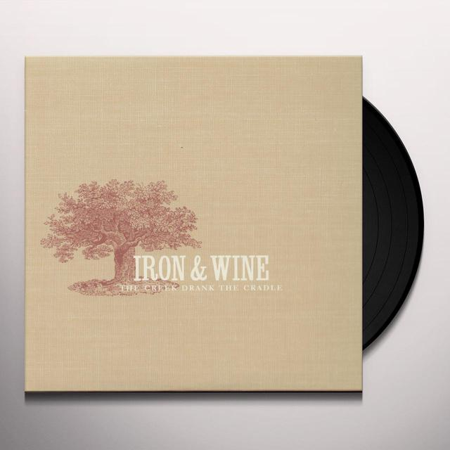 Iron & Wine CREEK DRANK THE CRADLE Vinyl Record
