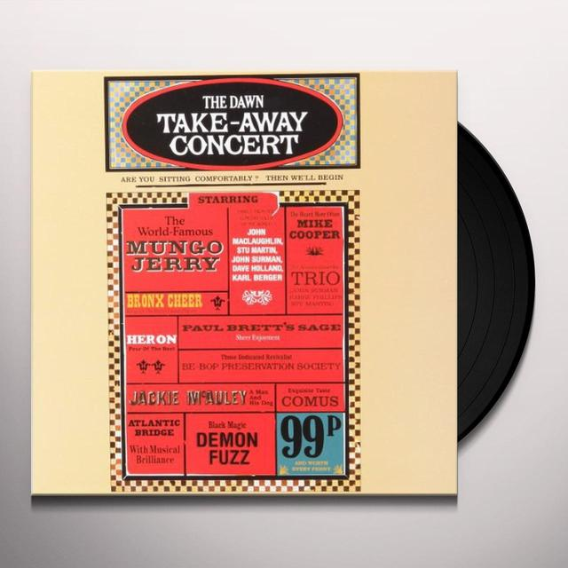 DAWN TAKE AWAY CONCERT / VARIOUS Vinyl Record