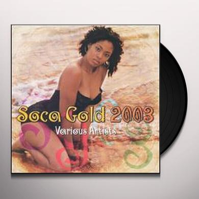 SOCA GOLD 2003 / VARIOUS Vinyl Record