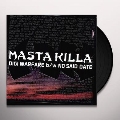 Masta Killa DIGI WARFARE / NO SAID DATE Vinyl Record