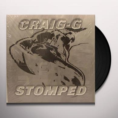 Craig G STOMPED (X3) / MAKE YOU SAY YES (X3) Vinyl Record