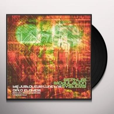Big Jus / Nephlim Modulation Sessions WOE TO THEE O LAND WHEN THY KING IS A CHILD Vinyl Record