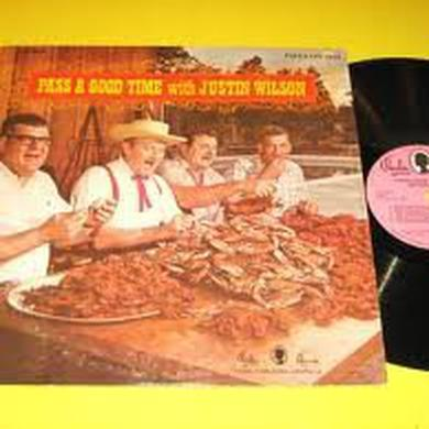 Justin Wilson PASS A GOOD TIME Vinyl Record