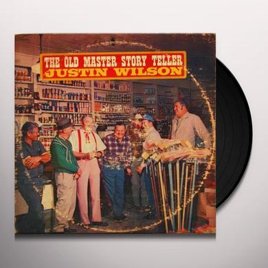 Justin Wilson OLD MASTER STORY TELLER Vinyl Record