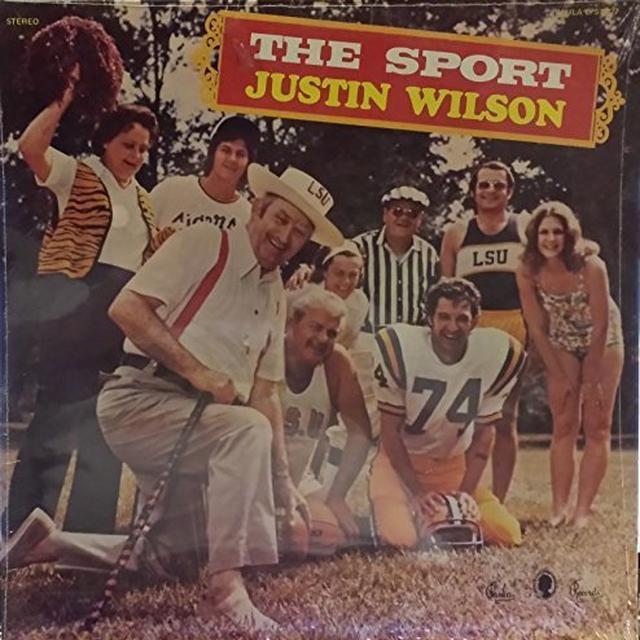 Justin Wilson SPORT Vinyl Record