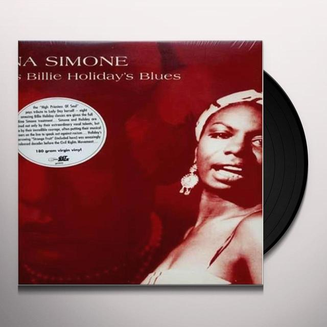 Nina Simone SINGS BILLIE HOLIDAY'S BLUES Vinyl Record