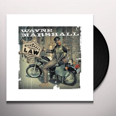 Wayne Marshall MARSHALL LAW Vinyl Record