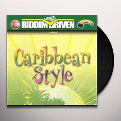 RIDDIM DRIVEN: CARIBBEAN STYLE / VARIOUS Vinyl Record