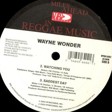 Wayne Wonder NO LETTING GO Vinyl Record