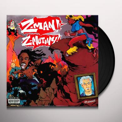 Z Man Z-MUTINY (X4) / BUCKLE UP (X3) Vinyl Record