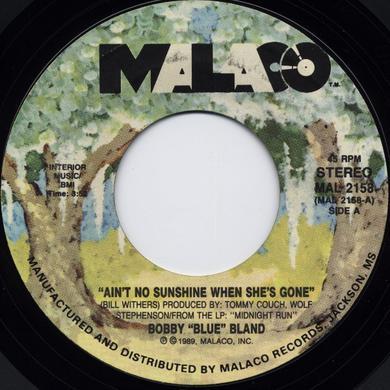 Bobby Blue Bland AIN'T NO SUNSHINE Vinyl Record