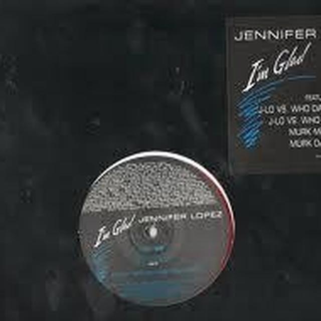 Jennifer Lopez I'M GLAD (X4) Vinyl Record