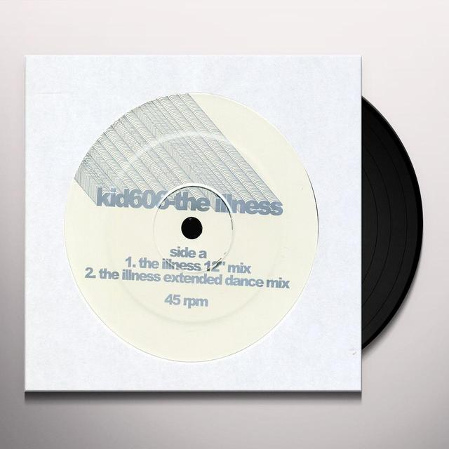 Kid606 ILLNESS Vinyl Record