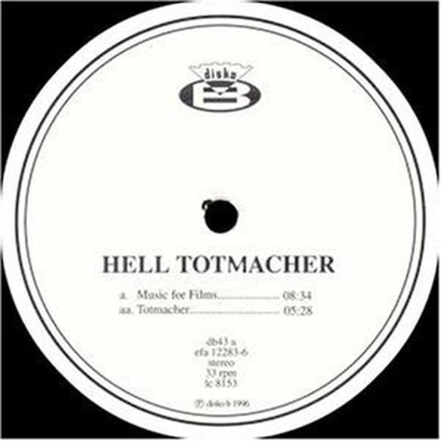 Dj Hell TOTMACHER Vinyl Record