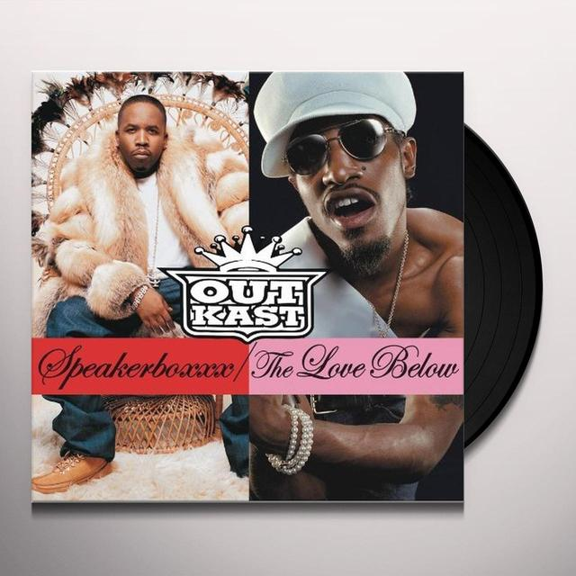 Outkast SPEAKERBOXXX: LOVE BELOW Vinyl Record