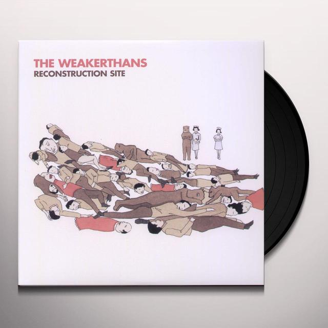 The Weakerthans RECONSTRUCTION SITE Vinyl Record