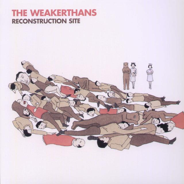 The Weakerthans RECONSTRUCTION SITE Vinyl Record