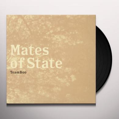 Mates Of State TEAM BOO Vinyl Record