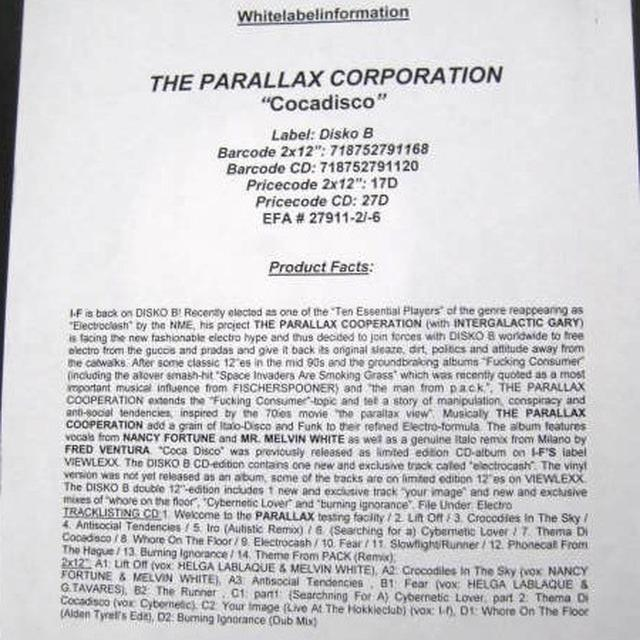 Parallax Corporation