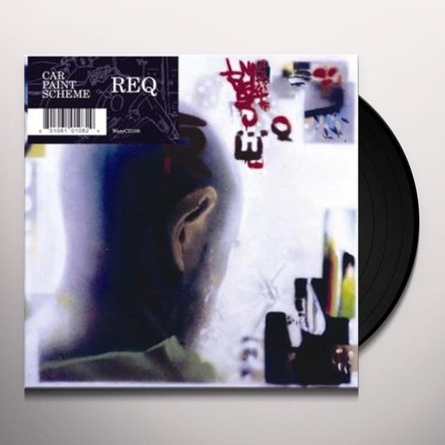 Req CAR PAINT SCHEME Vinyl Record