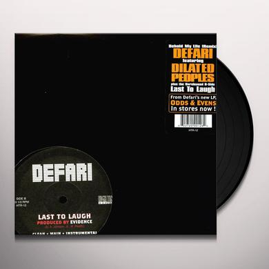 Defari BEHOLD MY LIFE / EXTRA THUMP Vinyl Record - Remix