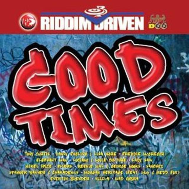 RIDDIM DRIVEN: GOOD TIMES / VARIOUS Vinyl Record