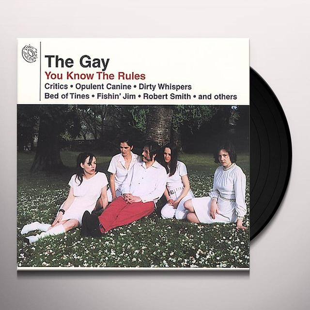 Gay YOU KNOW THE RULES Vinyl Record