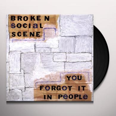 Broken Social Scene YOU FORGOT IT IN PEOPLE Vinyl Record