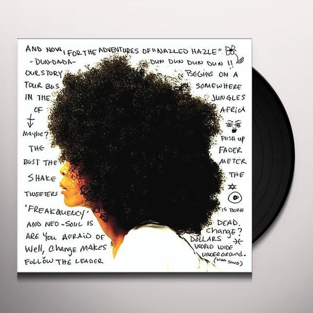 Erykah Badu WORLDWIDE UNDERGROUND Vinyl Record